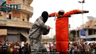 IS in Raqqah Publicly Executes Crucified Spies by Knife in the Heart