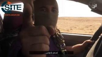 Russian-Speaking IS Fighter Threatens Attacks in Russia in Video Showing Raids in Western Iraq