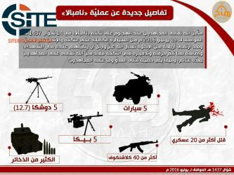 Ansar Dine Publishes Infographic on Nampala Attack