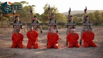 IS Video from Raqqah Shows Foreign Children Executing Prisoners