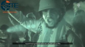 "IS Fighter Calls Supporters in France to ""Burn the French"" in Video Showing Attacks in Kirkuk"