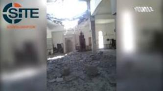 Shura Council of Benghazi Revolutionaries Says French Aircraft Destroyed Mosque, Releases Videos of Aftermath