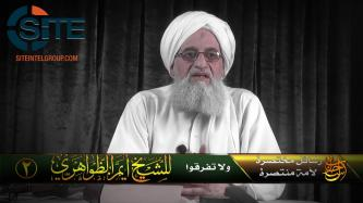 Zawahiri Calls on Fighters to Rally Around Afghan Taliban, Reject IS