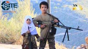 TIP Division in Syria Shows Gun-Toting Children in Video on Eid al-Adha Celebrations