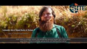 Chechen Commander in Al Muhajirun Video Stresses Importance of Scholars in Battlefield for Uniting Ranks