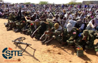 Shabaab Releases Pictures of Eid Prayer Ceremonies throughout Somalia