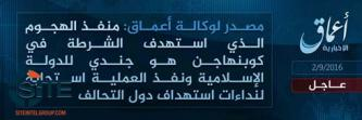"IS' 'Amaq Reports Copenhagen Police Shooter a ""Soldier of the Islamic State"""