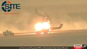 IS Releases Photos and Video of Destroyed Russian Helicopter in Homs