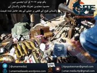 TTP Claims Attack with 40 Fighters on Military Camp in Kurram, Publishes Photos of War Spoils