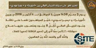 Ansar Dine Claims Bombing Malian Army Vehicle Between Douentza and Bambara Maoudé