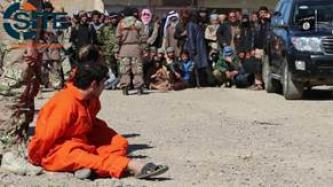 IS Video Shows Public Beheading of Spies in Kirkuk