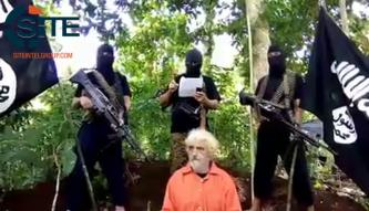 Abu Sayyaf Group Threatens in Video to Behead German Hostage