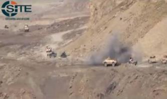 IJU Video Shows Attack on Afghan Convoy in Badakhshan