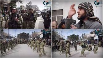 "Ahrar al-Sham Pledge to ""Destroy"" Regime and IS in Training Video"