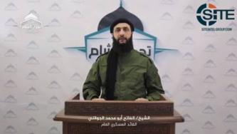 Julani, as Tahrir al-Sham Military Commander, Speaks on Homs Suicide Raid