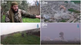 Tahrir al-Sham Released Videos of Suicide Bombing, Battle in Me'erdes, Northern Hama