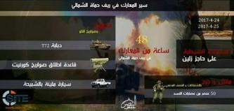 Jaish al-Nasr Infographic Outlines Battle in Zalin Barrier, Northern Countryside of Hama