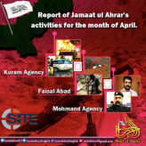 TTP JUA Releases Monthly Military Operations Report Claiming 24 Attacks in April 2017