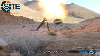 IS Photos Show Mortar Strike on Lebanese Army in Qaa Barrens