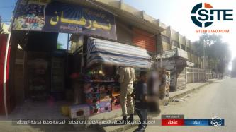 IS' Sinai Province Publishes Photos of Murdering Egyptian Soldier in Arish Market