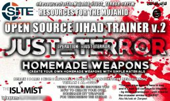 "Pro-IS Telegram Channel Focuses on Homemade Weapons in Volume 2 of ""Open Source Jihad Trainer"""