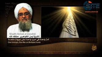 AQ Leader Zawahiri Promotes Unity of Muslims Against Unified Enemy in Audio Speech