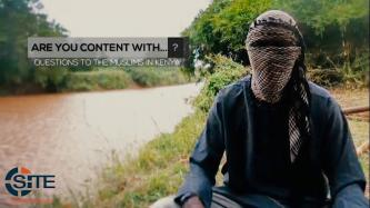 Shabaab Video Features Variety of East African Fighters Questioning Kenyan Muslims Ahead of Election