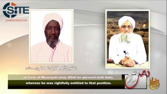 AQ Leader Zawahiri Mourns Slain Official Umar Khalil and Abu Dujana al-Pasha in Audio Speech