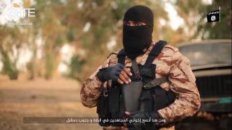 English-Speaking IS Fighter in Kirkuk Calls in Video for Muslims to Attack Citizens of Coalition States