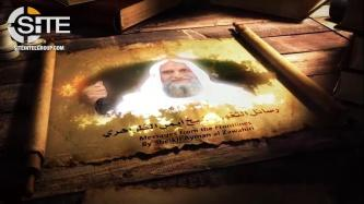 "Al-Qaeda Leader Zawahiri Rallies Fighters in AQ Branches, Urges North African Branch ""Teach the French a Lesson"""