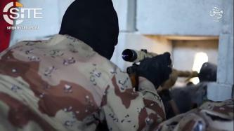 IS Video Shows Sniper Attacks on Syrian Regime Forces, Opposition Militants in Southern Damascus