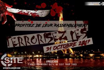 Pro-IS French Group Calls on Lone Wolves to Attack on Halloween