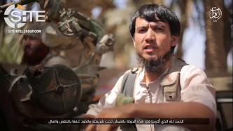 IS Video Features Uyghur Members of Anti-Aircraft Units in Western Iraq
