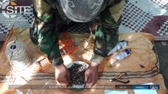 IS Publishes Photos of IED Construction in Iraq's Diyala Governorate