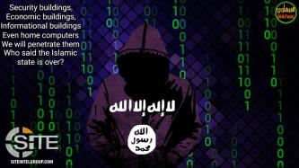 IS Supporter Promotes Pro-IS Hackers, Threatens America and France