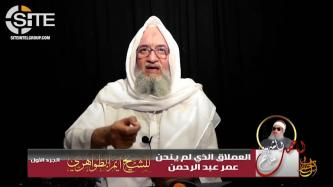 "AQ Leader Zawahiri Demands Revenge Against U.S. for Death of ""Blind Sheikh,"" Urges Unity of Fighters"