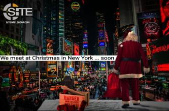 IS Supporter Threatens Queen Elizabeth II, Christmas Attack in Times Square