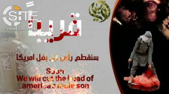 Pro-IS Group Displays Disturbing Graphic of Beheading Trump's Young Son
