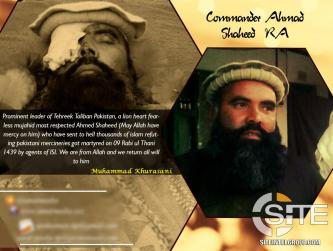 TTP Announces Death of Senior Leader by Pakistani Intelligence