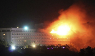"Afghan Taliban Claims Intercontinental Hotel Attack in Kabul, Killing and Wounding Dozens of ""Enemy Occupiers"""