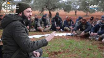 HTS Leader Julani Rallies Fighters with Speech in Idlib, Declares Jerusalem as Objective