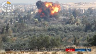 IS' Sinai Province Claims Suicide Bombing on Egyptian Military Convoy in Southern Arish