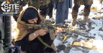 "Afghan Taliban Video Shows Training Footage of ""Abu Bakr Siddiq"" Military Camp"