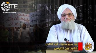 AQ Leader Zawahiri Questions Outcome of Arab Spring on 7th Anniversary of Uprisings