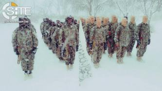 Afghan Taliban Photographs Fighters in Snowy Scenes at Training Camp in Northern Afghanistan