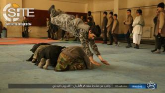 IS Division in Damascus Publishes Photos from Training Camp for Children