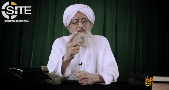 Al-Qaeda Leader Zawahiri Reiterates Call for Unity in Syria, Tells Fighters to Prepare for Decades-Long War