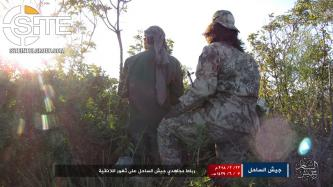 Pro-AQ Jaysh al-Sahel in Syria Threatens Reprisals Against Rivals, Photographs Fighters in Lattakia