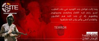 "IS Supporters Distribute Posters Promoting Trèbes Attack as ""Just Terror"""