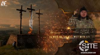 On Easter, Pro-IS Group Uses Imagery of Crosses and Explosive to Threaten Attacks
